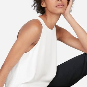 Wilfred Aritzia white high neck tank top blouse